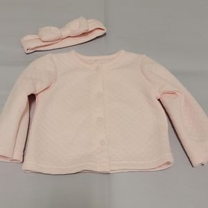 💝NWOT Quilted Lightweight Snapped  pink jacket